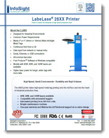 LabeLase® 2800 Series Printers Brochure