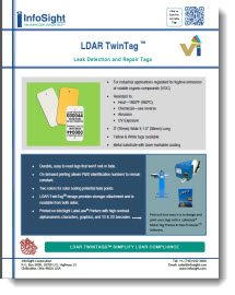 LDAR Tags - Leak Detection and Repair
