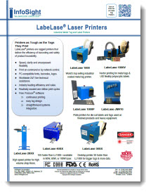 LabeLase Printer Family Brochure