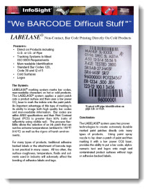 LABELASE® Direct Marking on Cold Products Brochure
