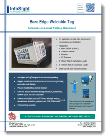 Bare Edge Weldable Tag Brochure