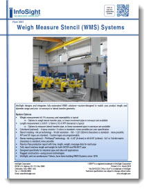 Weigh Measure Stencil (WMS) System Brochure