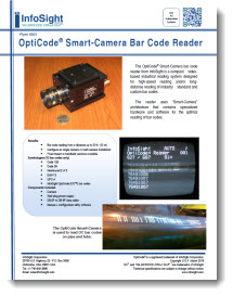 Opticode® Smart-Camera Barcode Reader Brochure