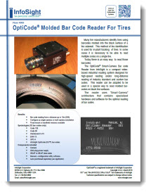Opticode® Molded Barcode Reader for Tires Brochure