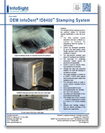 OEM InfoDent® ID8400 Stamping System