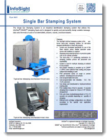Single Bar Stamping System Brochure