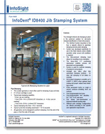 InfoDent ID8400 Jib Stamping System Brochure