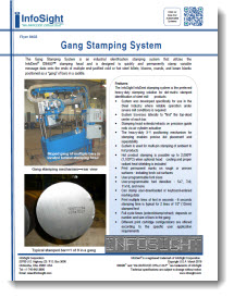 Gang Stamping System Brochure