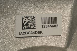 FoamTag™ Labels for Castings and Rough Cast Surfaces