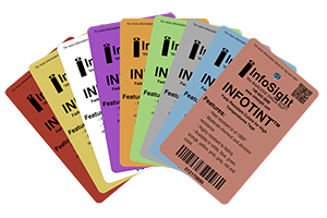 INFO-TINT™ Colored Metal Tags